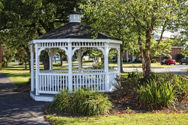 Gazebo at Town Hall Terrace