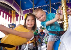 Kids on Carousel